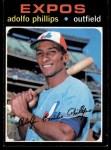 1971 Topps #418  Adolfo Phillips  Front Thumbnail