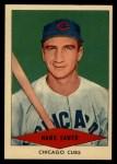 1954 Red Heart  Hank Sauer     Front Thumbnail