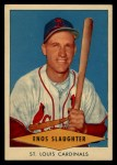 1954 Red Heart #28  Enos Slaughter  Front Thumbnail
