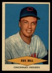 1954 Red Heart #3  Gus Bell  Front Thumbnail