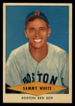 1954 Red Heart #31  Sammy White  Front Thumbnail