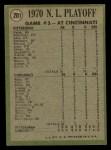 1971 Topps #201   -  Ty Cline / Manny Sanguillen 1970 NL Playoffs - Game 3 - Cline Scores Winning Run Back Thumbnail