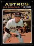 1971 Topps #162  Jack Billingham  Front Thumbnail