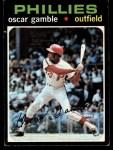 1971 Topps #23  Oscar Gamble  Front Thumbnail