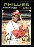 1971 Topps #297  Johnny Briggs  Front Thumbnail