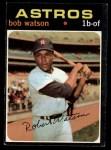 1971 Topps #222  Bob Watson  Front Thumbnail