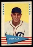 1961 Fleer #51  Chuck Klein  Front Thumbnail