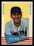 1961 Fleer #38  Lefty Grove  Front Thumbnail