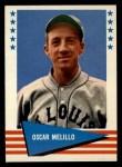 1961 Fleer #127  Oscar Melillo  Front Thumbnail