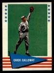 1961 Fleer #108  Chick Galloway  Front Thumbnail