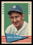 1961 Fleer #15  Mickey Cochrane  Front Thumbnail