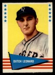 1961 Fleer #121  Dutch Leonard  Front Thumbnail