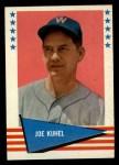 1961 Fleer #119  Joe Kuhel  Front Thumbnail