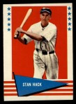 1961 Fleer #110  Stan Hack  Front Thumbnail