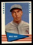 1961 Fleer #109  Mule Hass  Front Thumbnail