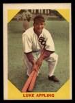 1960 Fleer #27  Luke Appling  Front Thumbnail