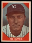 1960 Fleer #63  Red Ruffing  Front Thumbnail