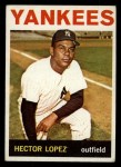 1964 Topps #325  Hector Lopez  Front Thumbnail