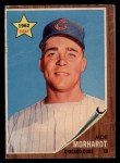 1962 Topps #309  Moe Morhardt  Front Thumbnail