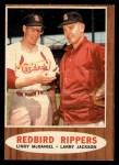 1962 Topps #306   -  Lindy McDaniel / Larry Jackson Redbird Rippers Front Thumbnail