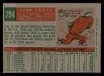 1959 Topps #294  Hank Foiles  Back Thumbnail