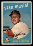 1959 Topps #150  Stan Musial  Front Thumbnail