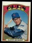 1972 Topps #45 ^COR^ Glenn Beckert  Front Thumbnail