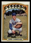 1972 Topps #759  Chris Cannizzaro  Front Thumbnail