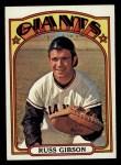 1972 Topps #643  Russ Gibson  Front Thumbnail