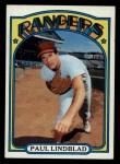 1972 Topps #396  Paul Lindblad  Front Thumbnail