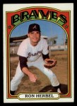 1972 Topps #469  Ron Herbel  Front Thumbnail