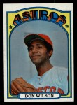 1972 Topps #20  Don Wilson  Front Thumbnail