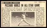 1964 Topps Giants #53  Juan Pizarro   Back Thumbnail