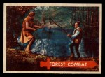 1957 Topps Robin Hood #17   Forest Combat Front Thumbnail