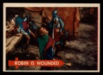 1957 Topps Robin Hood #35   Robin Is Wounded Front Thumbnail