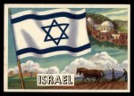 1956 Topps Flags of the World #29   Israel Front Thumbnail