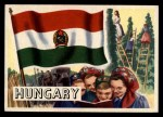1956 Topps Flags of the World #38   Hungary Front Thumbnail