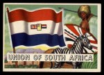 1956 Topps Flags of the World #9   Union Of South Africa Front Thumbnail