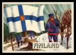 1956 Topps Flags of the World #74   Finland Front Thumbnail