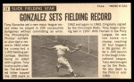 1964 Topps Giants #14  Tony Gonzalez   Back Thumbnail