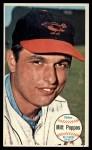 1964 Topps Giants #5  Milt Pappas   Front Thumbnail