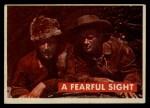 1956 Topps Davy Crockett #8 GRN  Fearful Sight  Front Thumbnail