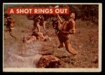 1956 Topps Davy Crockett #21 GRN  A Shot Rings Out  Front Thumbnail