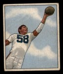 1950 Bowman #8  Mac Speedie  Front Thumbnail