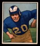 1950 Bowman #53  Dick Huffman  Front Thumbnail
