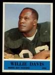 1964 Philadelphia #72  Willie Davis  Front Thumbnail