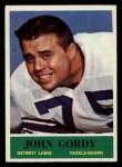 1964 Philadelphia #60  John Gordy   Front Thumbnail
