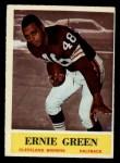 1964 Philadelphia #35  Ernie Green  Front Thumbnail