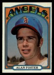 1972 Topps #521  Alan Foster  Front Thumbnail