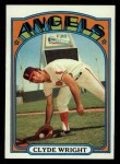 1972 Topps #55  Clyde Wright  Front Thumbnail